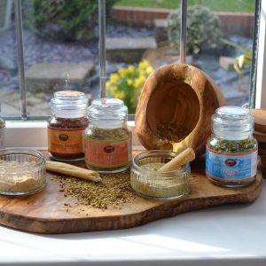 Dried Herb Mixes Dips & Blends