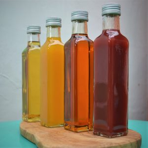 vinegars and oil