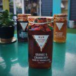 cranberry and orange marmalade